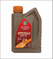 Масло моторное  полусинтетическое для двухтактных двигателей ОPTIMAL ELIT 2Т, 1л