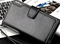 Вместительный  Клатч-портмоне мужской Baellery ACTIVE(BLACK)