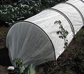 Мини теплица парник Подснежник 10 метров с агроволокном и клипсами