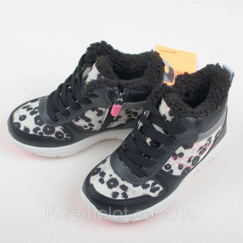 """Детские ботинки на меху H&M """"Крошка"""" для девочки размер 29, обувь демисезон теплая"""