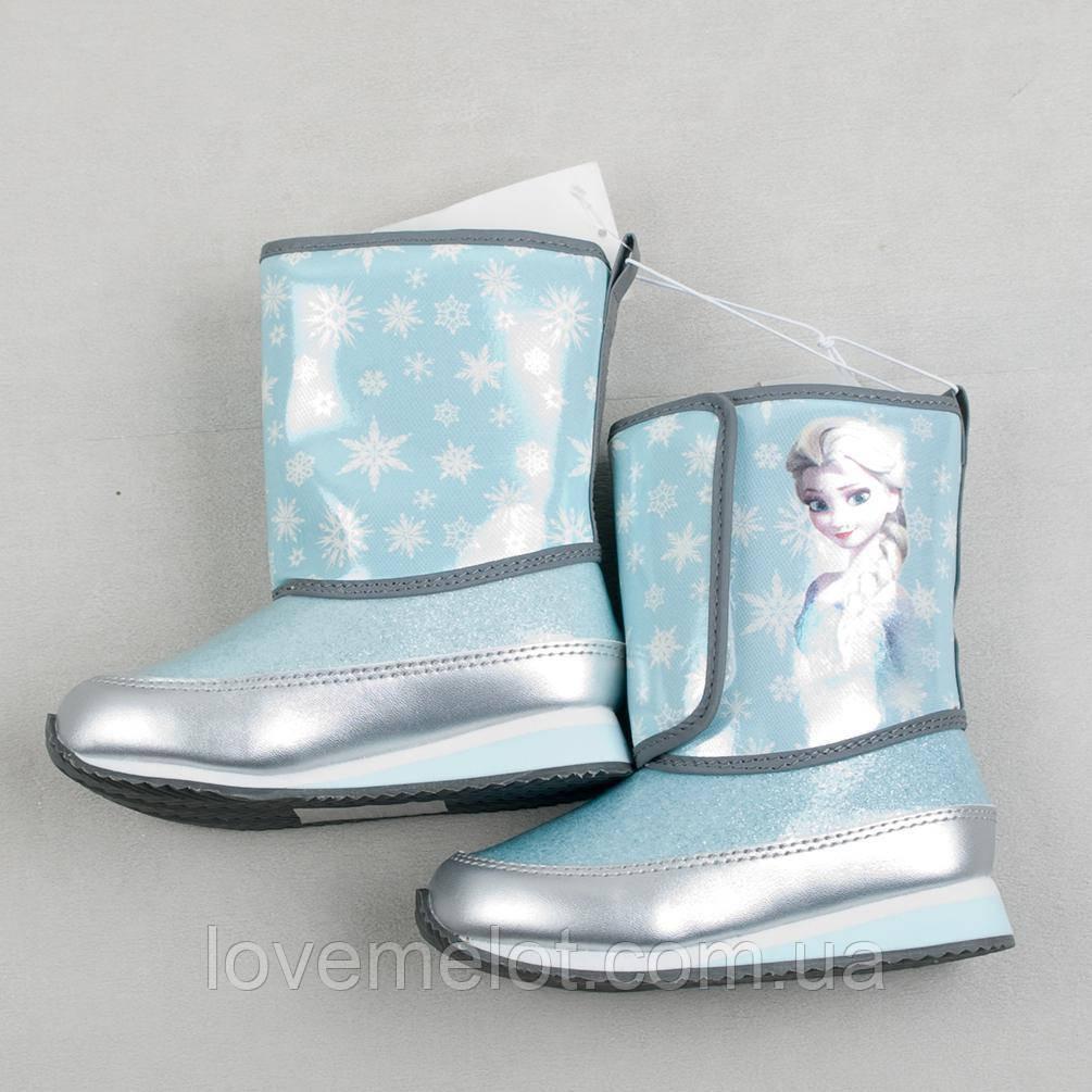 """Детские зимние сапоги H&M """"Эльза"""" для девочки, размер 27"""
