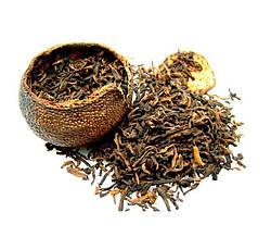 """Чай черный """"Пуэр мандарин"""""""
