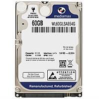 "Жесткий диск (HDD) 2.5"" 60 GB Mediamax (WL60GLSA854G)"