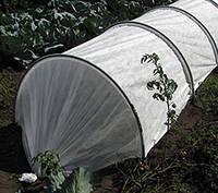 Парник Подснежник 6 метров с агроволокном и клипсами