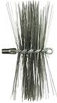 Приспособление для чистки дымохода: щетки, ручки или трос, готовые наборы в магазине Тепло очага