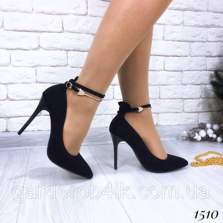 Женские туфли лодочки, каблук шпилька