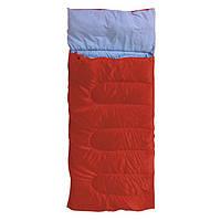 """Спальний мішок """"Rest"""" с подушкою красний KEMPING"""
