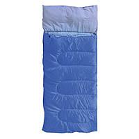"""Спальний мішок """"Rest"""" с подушкою синій KEMPING"""