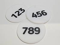 Номерок на ключи диаметр 80 мм, фото 1