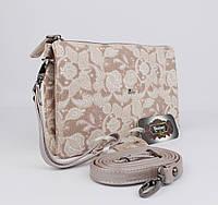 Кожаный клатч Desisan 070-14 пудровый, расцветки , фото 1
