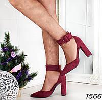 Ошатні жіночі туфлі на підборах, фото 1