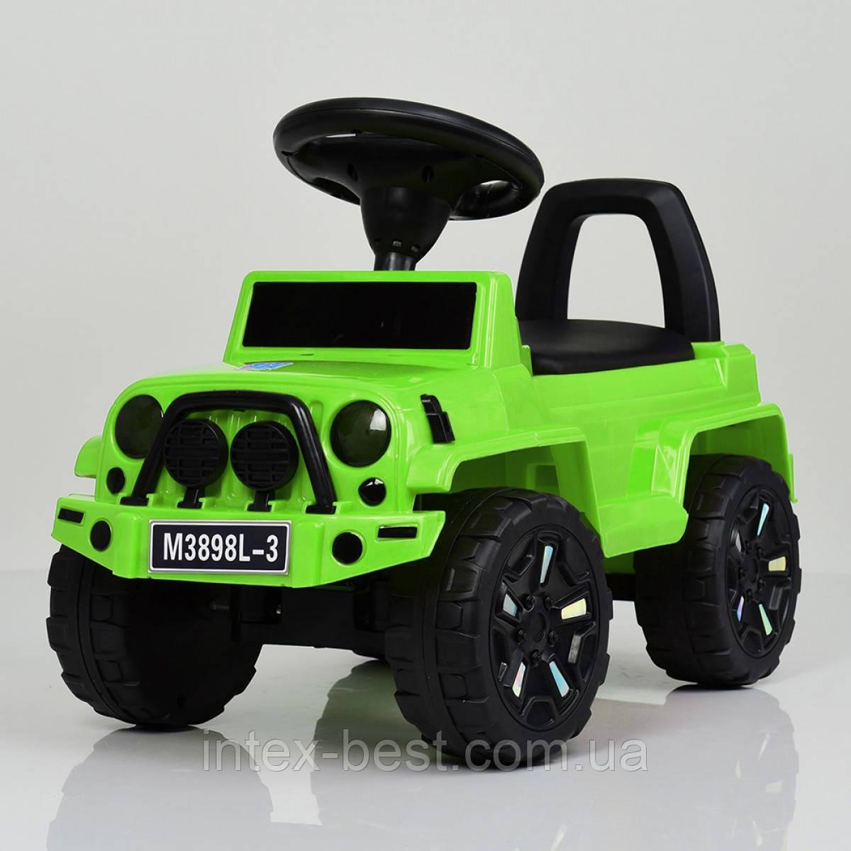 Каталка-толокар Bambi M 3898L-5 (зеленый)