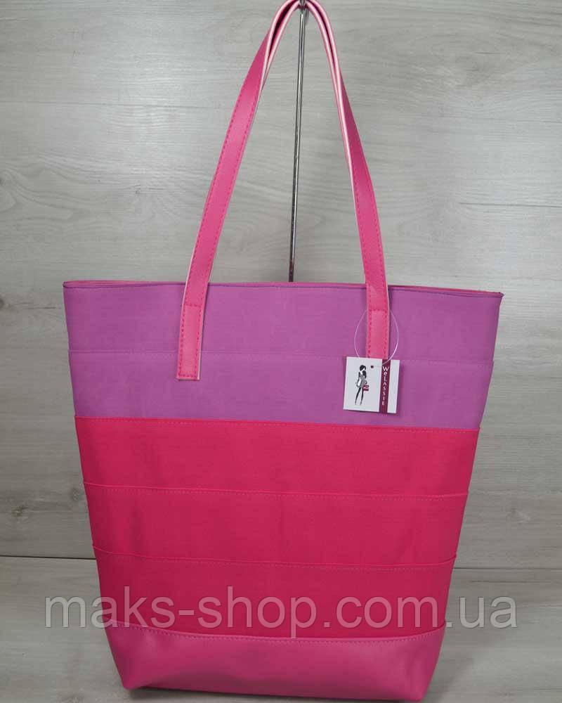 a5f85cc431a4 Женская сумка шоппер WeLassie , кожзам/резина - Maks Shop- надежный и  перспективный интернет