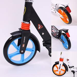 Самокат scooter urban 9x xl200 city sport original с двумя амортизаторами для подростков и взрослых