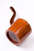Деревянный черпак для бани и сауны Яро из липы с морилкой 0,8л