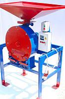Зернодробилка ДКУ на 11 кВт до 2100 кг.час Кормоизмельчитель,Дробилка