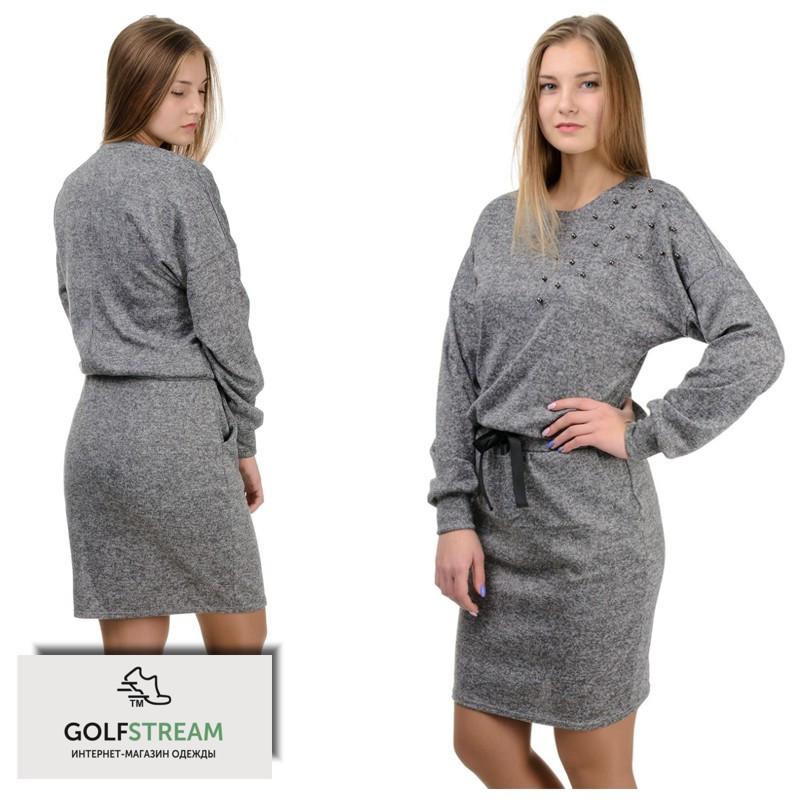 Платье женское Milana серый