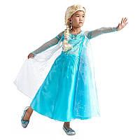 Карнавальный костюм платье принцесса Эльза + туфельки Frozen, Disney 2018