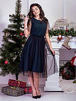 Праздничное шикарное платье Вечерний изумруд, фото 1