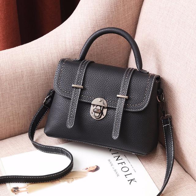 Мини сумочка через плечо черный