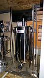 Шприц профессиональный колбасный вертикальный VEKTOR-GRT15L 15 литров, фото 2