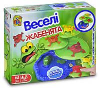 Настольная развлекательная игра Веселые жабки