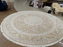 Персидские ковры классические круглые пастельных тонов 300х300, ковер 3х3