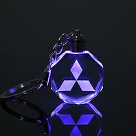 Брелок c подсветкой Mitsubishi