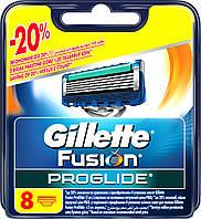 Gillette Fusion Proglide 8 шт. в упаковке сменные кассеты для бритья оригинал Германия