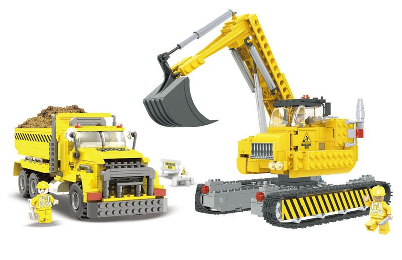 Конструктор AUSINI 29901 «Строители»