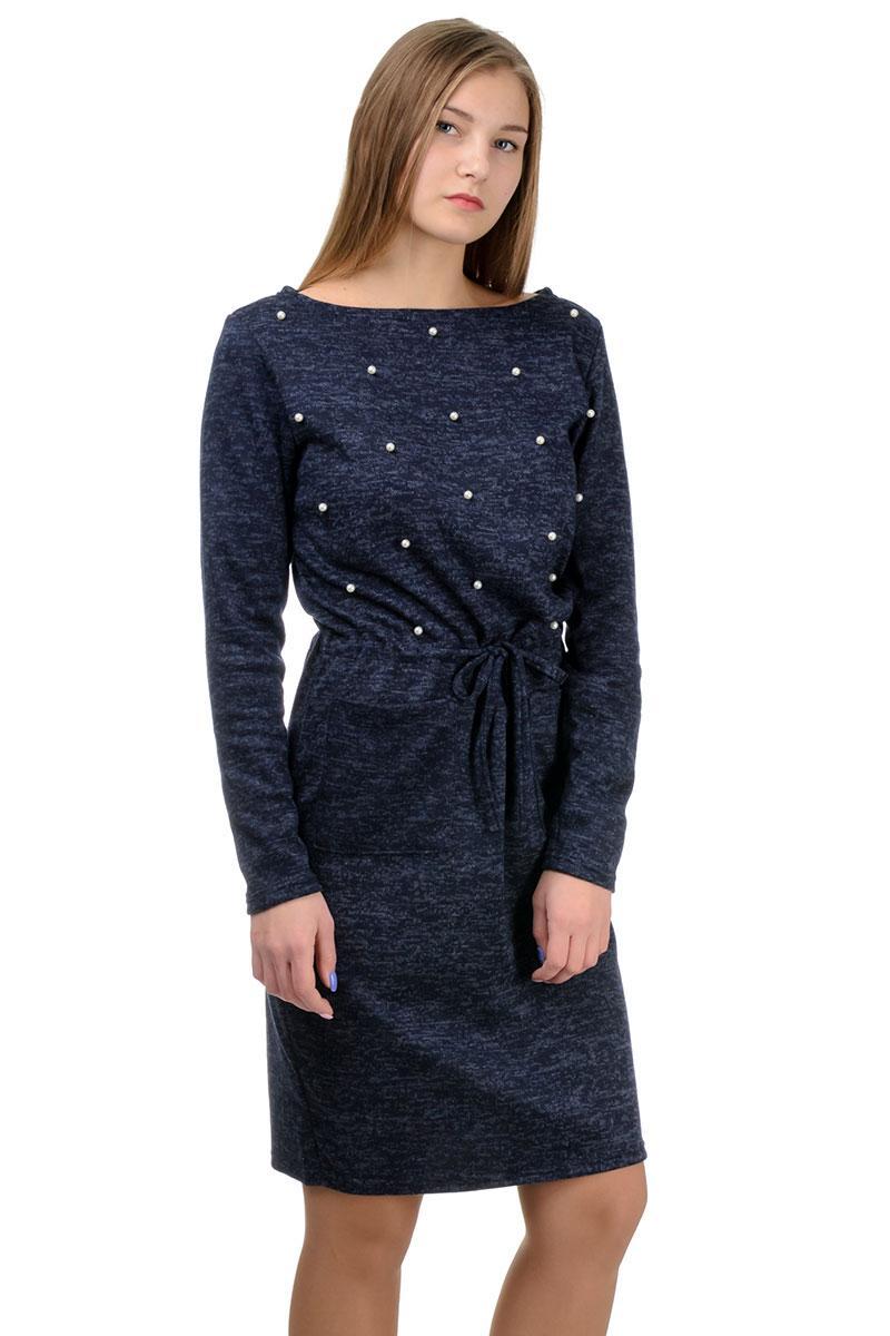 Молодежное платье Jessica темно-синий