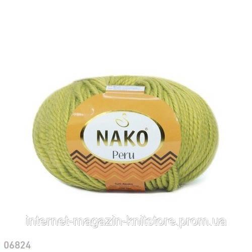 Пряжа Nako Peru Фисташковый