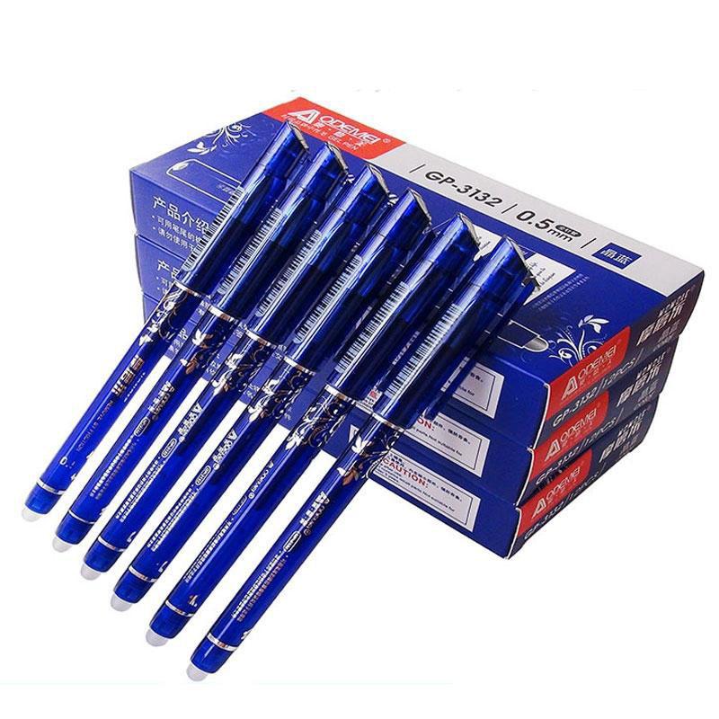 """Ручка гелевая """"пиши-стирай"""" Aodemei GP-3132 синяя 0,5 мм"""