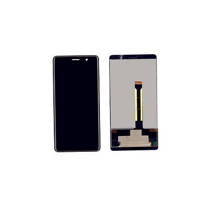 Дисплей (экран) для Nokia 7 Plus Dual Sim (TA-1046/TA-1055) с сенсором (тачскрином) черный Оригинал, фото 2