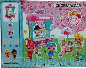 Игровой набор Лол Тележка Мороженого  / Lol Ice cream car / аналог, фото 2