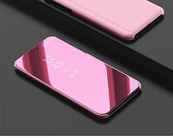 Чехол Mirror для Samsung J4 Plus 2018 / J415 книжка  зеркальный Rose