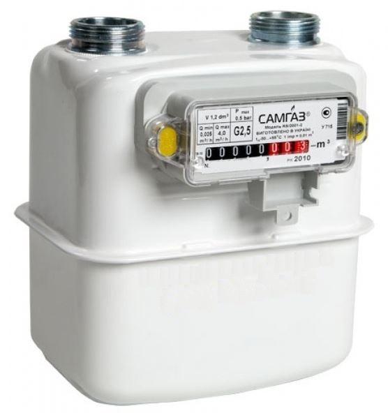 Газовый счетчик Самгаз G 4