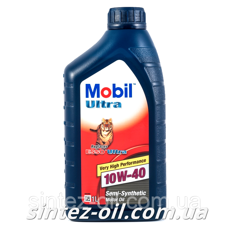 Моторное масло Mobil Ultra 10W-40 (1л)