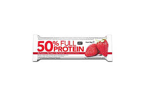 QNT_50% Full Protein Bar 50 г - Exotic Strawberry
