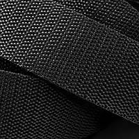 Лента ременная  100% Полипропилен 25мм цв черный (боб 50м) р 2941 Укр-б