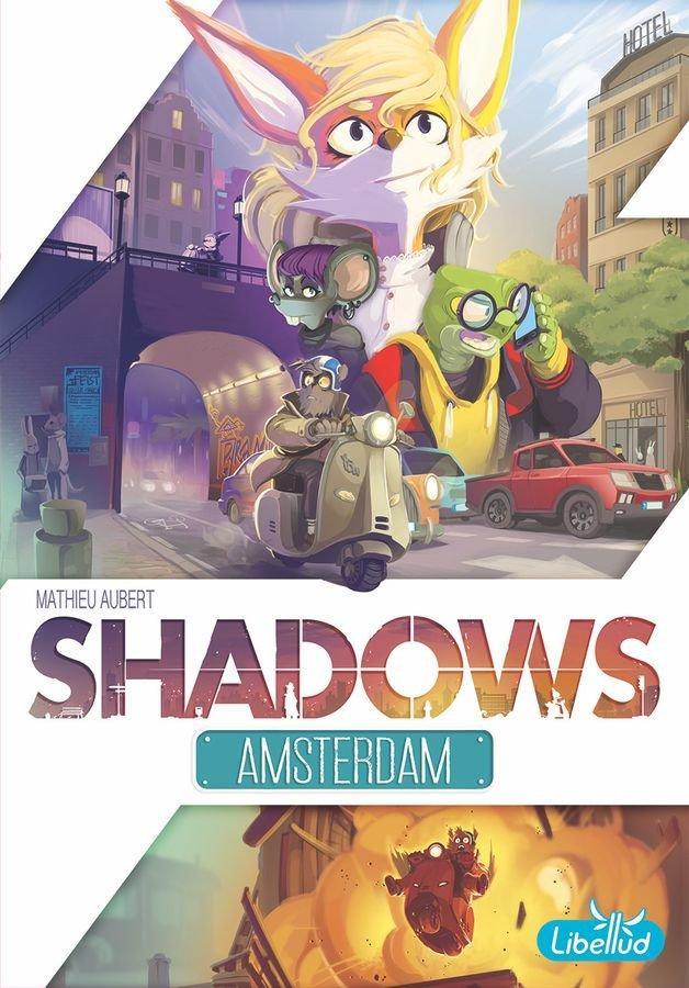 Настольная игра Тени: Амстердам (Тіні: Амстердам, Shadows: Amsterdam)