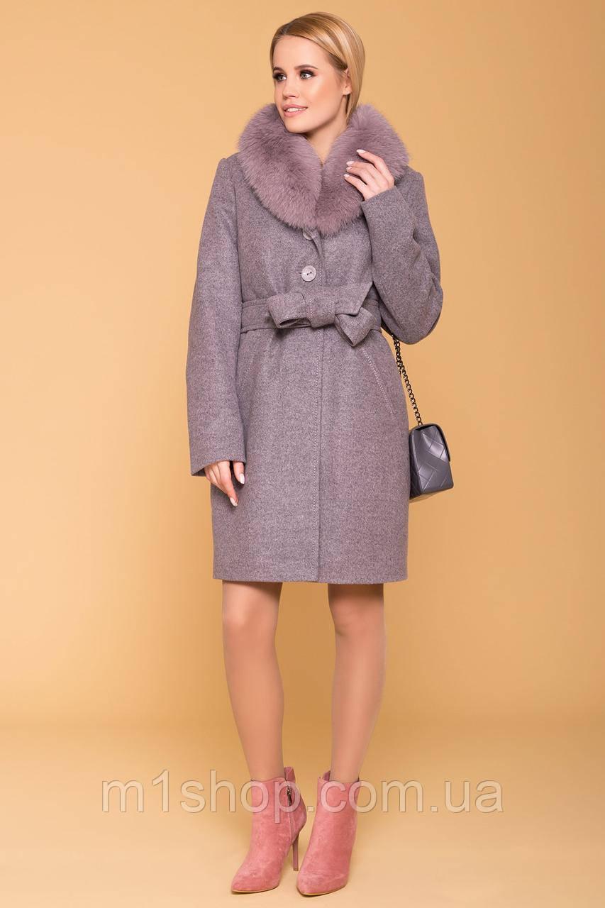 зимнее пальто женское Modus Камила 5611