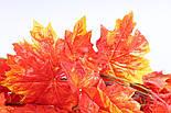 Осенняя оранжевая  лиана клён искусственная 14 метров 3M9, фото 2