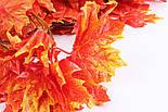 Осенняя оранжевая  лиана клён искусственная 14 метров 3M9, фото 4