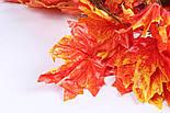 Осенняя оранжевая  лиана клён искусственная 14 метров 3M9, фото 6