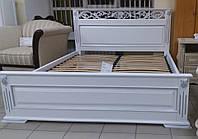 Деревянная двуспальная кровать Лорен, фото 1