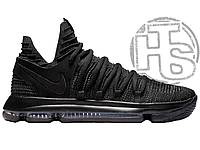 "Мужские кроссовки Nike Zoom KD 10 X ""Blackout"" Black/Dark Grey 897815-004"