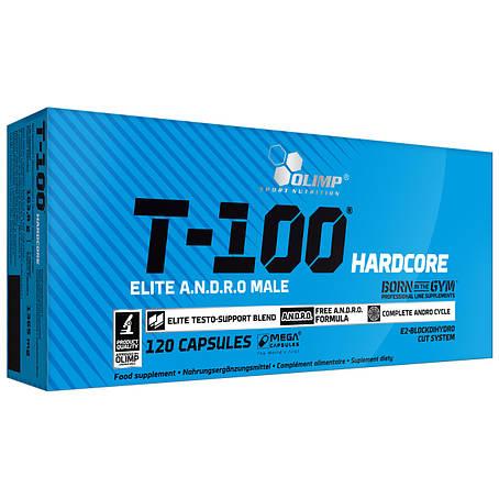 OLIMP T-100 Hardcore 120 caps, фото 2