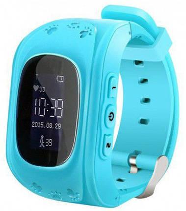 Часы Smart Baby Watch Q50 Light Blue Гарантия 1 месяц, фото 2