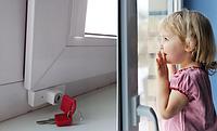 Детский замок на окна BSL (Baby Safe Lock) Белый (03162)